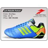 Ulasan Mengenai Sepatu Futsal Sevenray La Pulga Biru Hijau