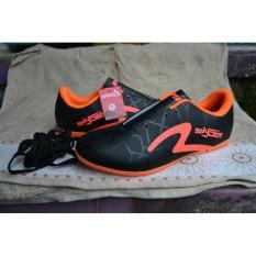 Sepatu Futsal Specs - Sepatu Bola Specs - Olahraga - Pria Wanita - Sport Trendy Keren Murah - black hitam 39-44