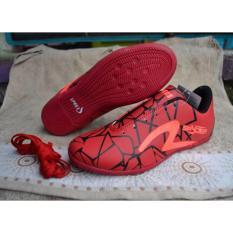 Sepatu Futsal Specs - Sepatu Bola Specs - Olahraga - Pria Wanita - Sport Trendy Keren Murah - red