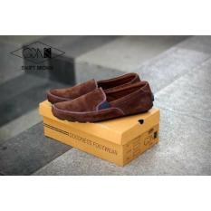 Sepatu GDNS Casual Slip On Swift GO-001 Sepatu Santai ,Sepatu Kerja ,Sepatu Kuliah ,Sepatu Sekolah