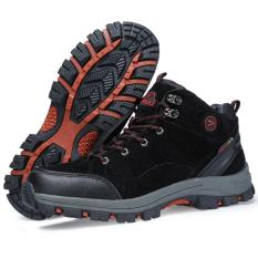 Sepatu Gunung Snta 468 BLACK Trekking/Hiking/Adventure/Outdoor