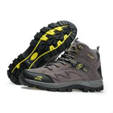 Sepatu Gunung Snta 471 GREY Trekking/Hiking/Adventure/Outdoor
