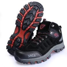 Sepatu Gunung/Hiking Outdoor Snta 467 Black