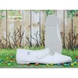 Spesifikasi Sepatu Haji Umroh Tosca Tali Size 41 Sepatu Perlengkapan Haji Umroh Murah Sepatu Putih Haji Umroh Tosca Terbaru