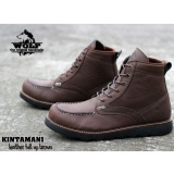 Promo Sepatu Handmade Bandung High Quality Wolf Kintanami Brown Handmade Terbaru