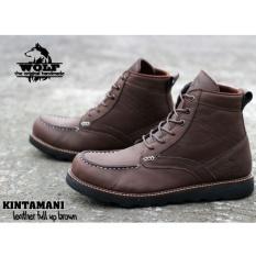 Diskon Sepatu Handmade Bandung High Quality Wolf Kintanami Brown Handmade