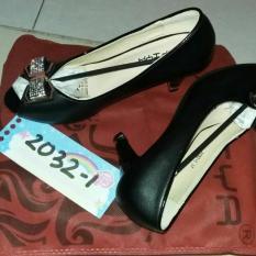Sepatu Heels Import Merk Sofiya .Lengkap Dus Bag Dan Bersertifikat