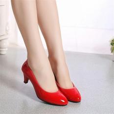 Harga Sepatu Heels Wanita Highheels Wanita Murah Ghs Dv Red Paling Murah