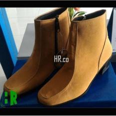 Sepatu High Heels Boots Wanita Boot Cewek Elegan Cantik Gaya Cibaduyut - Wy1a96