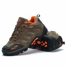 Harga Sepatu Hiking Outdoor Sepatu Gunung Snta 431 Cokelat Orange Baru