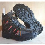 Diskon Sepatu Hiking Snta Outdoor Adventure Mountain Bikers Hitam