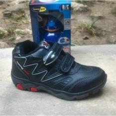 Homyped sepatu sekolah reynand 02 -hitam 34-38