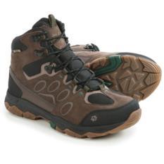Sepatu Jack Wolfskin Mtn Attack 5 Texapore Mid Hiking Boots Dark Pine