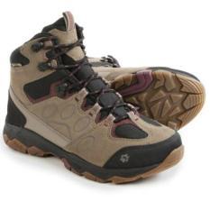 Sepatu Jack Wolfskin Mtn Attack 5 Texapore Mid Hiking Boots Wild Berry