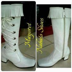 Sepatu Jenggel Mayoret Tinggi / Nabato Shoes - X0fgmh