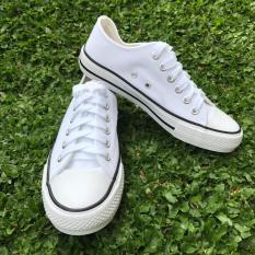 Harga Sepatu Kanvas Sneakers Pria Putih Yg Bagus