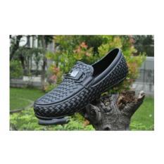 Jual Sepatu Karet Casual Sepatu Pantofel Pria Kinbos Di Bawah Harga