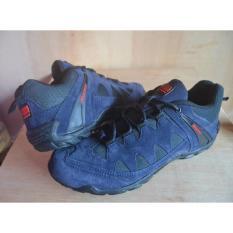 Sepatu Karrimor Summit - Outdoor - Tracking - Adventure - Sepatu Gunung - Pria - Biru Navy