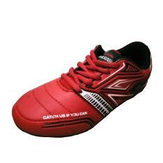 Sepatu Kasogi Falcao Red - Sepatu Futsal - Sepatu Pria - Sepatu Anak-Anak - Sepatu Olahraga - Sepatu Lari