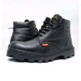 Tips Beli Spartan Sepatu Kerja Boots Safety Tali Sepatu Kerja Dapur Sepatu Kerja Kitchen Bahan Kulit Sapi Warna Hitam