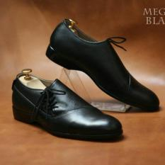 Sepatu Kerja Formal Kulit Asli Pantopel Pria Branded - CEVANY MEGAN - Black