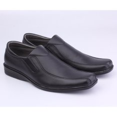 Spesifikasi Sepatu Kerja Formal Pantofel Pria Catenzo Mp 093 Hitam Kulit Terbaik