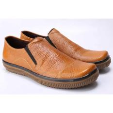 Sepatu Kerja Kantor Formal Pantofel Pria Cowok Cowo Coklat MP 174 CZ