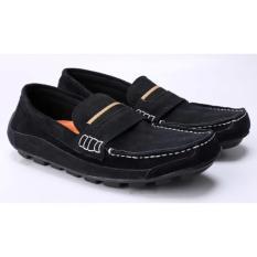 Sepatu Kerja Kantor Formal Pantofel Pria Cowok Cowo Hitam MA 004 CZ