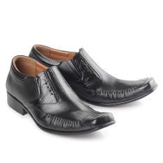 sepatu kerja pria sepatu kantor pria sepatu kulit asli hitam branded  original bandung f98248af98