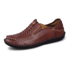 Sepatu Kerja Sepatu Kulit Asli Pria Sepatu Mengemudi Sepatu Doug Sepatu Kasual Intl Oem Diskon 40