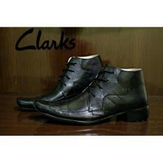 Sepatu Kerja/Formal Pantovel Kulit Clarks Modis - 975599