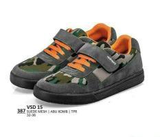 Sepatu Kets Anak Laki Laki Loreng-Sekolah Pesta Anak-Everflow Distro