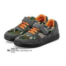 sepatu kets anak laki laki-sepatu sekolah anak loreng-everflow distro