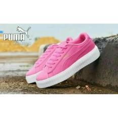 Spesifikasi Sepatu Kets Casual Sneakers Putih Pink Murah Yang Bagus Dan Murah