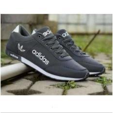 Sepatu Kets Casual Wanita SP17 ( Sepatu Olahraga / Sepatu Jalan Santai (WarnA Abu)