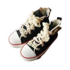 Beli Sepatu Kets Strawberry Black Polkadot Nixel Murah