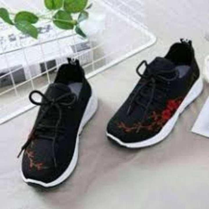 Sepatu Kets Wanita Casual - Sneaker For Woman Shoes Motif