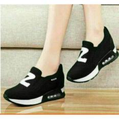 Sepatu Kets wanita Z New Hitam