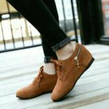 Harga Sepatu Kets Zipper Tan Kets Wanita Fashion Brown Murah Satu Set