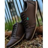 Diskon Sepatu Kickers Casual Saka Pria Cokelat