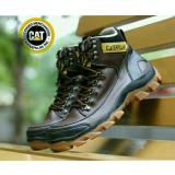 Harga Sepatu Kickers Caterpillar Woods Safety Boots Leather Brown Dan Spesifikasinya