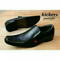 kickers - sepatu pantofel kulit pria kickers 100 % asli formal dinas kantor