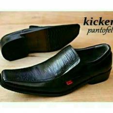 Daftar Harga Kickers Sepatu Kickers Pria Pantofel Formal Kerja Kantoran Rapat Sekolah Bahan Kulit Sapi Asli Sepatu Pantofel