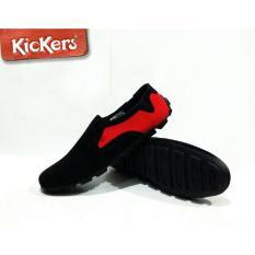 Sepatu Kickers Pria Slip On Made In France Asli Import - 3Ac666