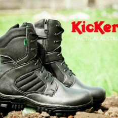 sepatu Kickers Safety Boot PDL - PDH Hiking touring lapangan polisi
