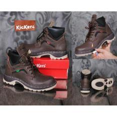 Sepatu Kickers Safety Leather Super Original Murah# 1204 - 967B7E