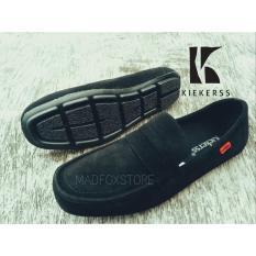 Beli Sepatu Slop Sandal Selop Casual Santai Sporty Nyaman Hitam Pria Slip On Gaya Murah Di Jawa Barat