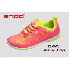 Toko Ando Sepatu Kimmy Fuschia L Green Termurah Indonesia