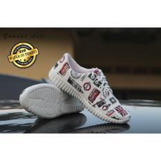 Harga Sepatu Koran Sneakers Wanita Pria Sepatu Santai Fullset Murah