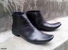 Sepatu Boot Formal Alexander ALX06z Kulit Asli Berkualitas Durable - Sepatu Pantofel Kulit Sapi Asli - Sepatu Fashion Pria Kulit Asli